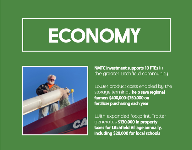 NMTC Facility Expansion Investment Low-income rural community impact
